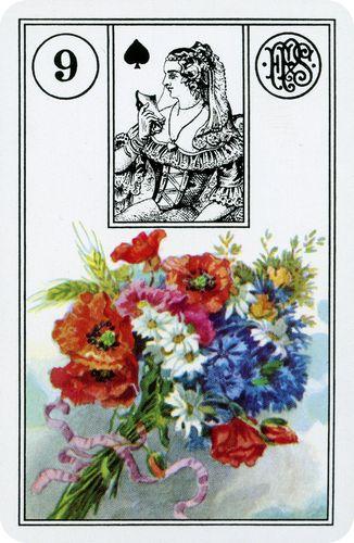 Baralho Cigano - Carta Ramalhete