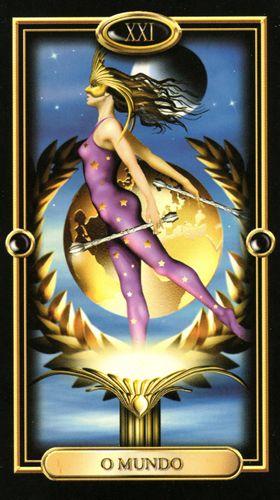 Gilded Tarot - Mundo