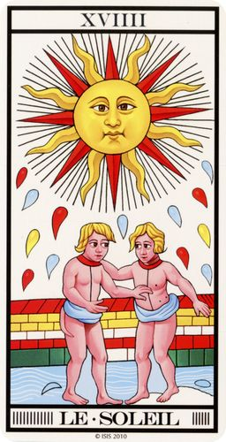Tarot de Marselha - O Sol