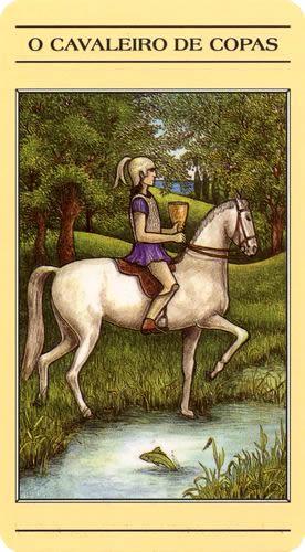 Tarô Mitológico - Cavaleiro de Copas