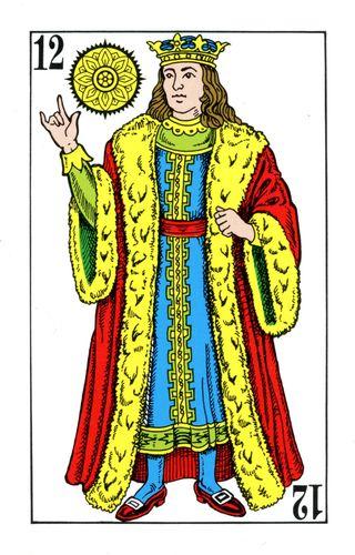 Baralho Espanhol - Rei de Ouros