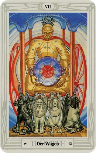 Tarot de Crowley - Carro