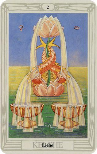 Tarot de Crowley - Dois Copas