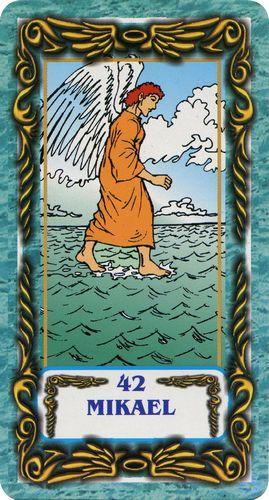 Tarô dos Anjos - Mikael