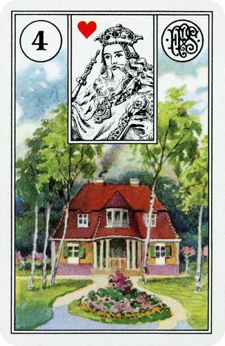 Baralho Cigano - Casa