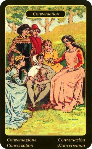 Cartas Ciganas - Conversas