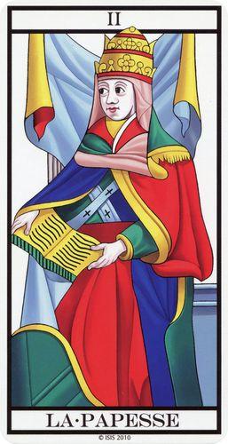 Tarot de Marselha - A Papisa