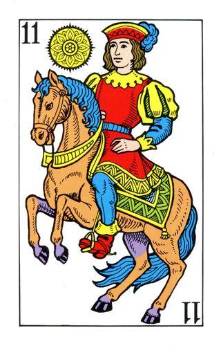 Baralho Espanhol - Cavaleiro de Ouros