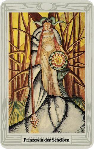 Tarot de Crowley - Princesa de Ouros