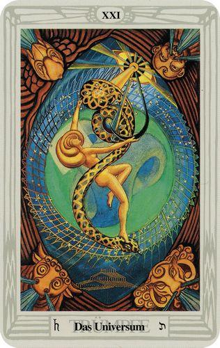Tarot de Crowley - Universum
